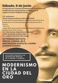 Actividad cultural: Modernismo en la Ciudad del Oro