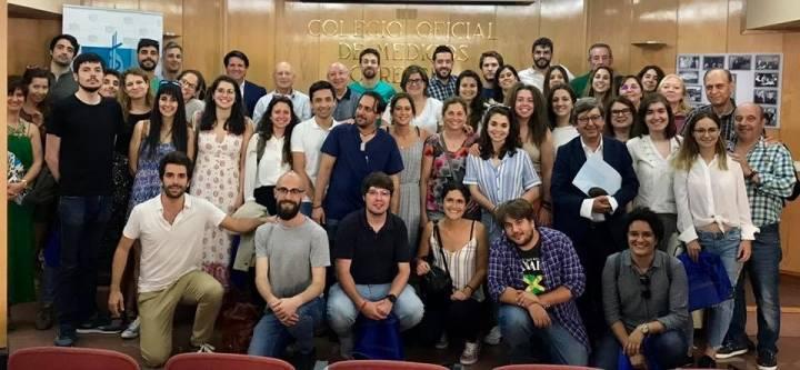 BIENVENIDA A LOS NUEVOS MÉDICOS/AS RESIDENTES DE LA EOXI EN EL COLEGIO DE MÉDICOS DE OURENSE