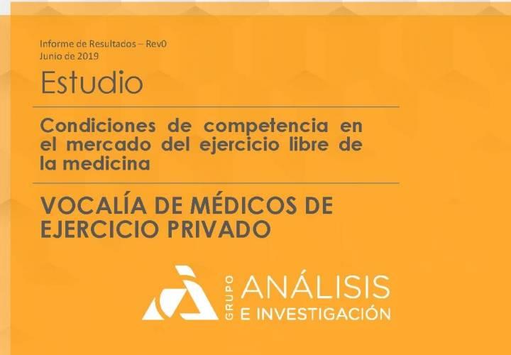 Resumen enquisa sobre as condicións de competencia o mercado de exercicio privado da medicina