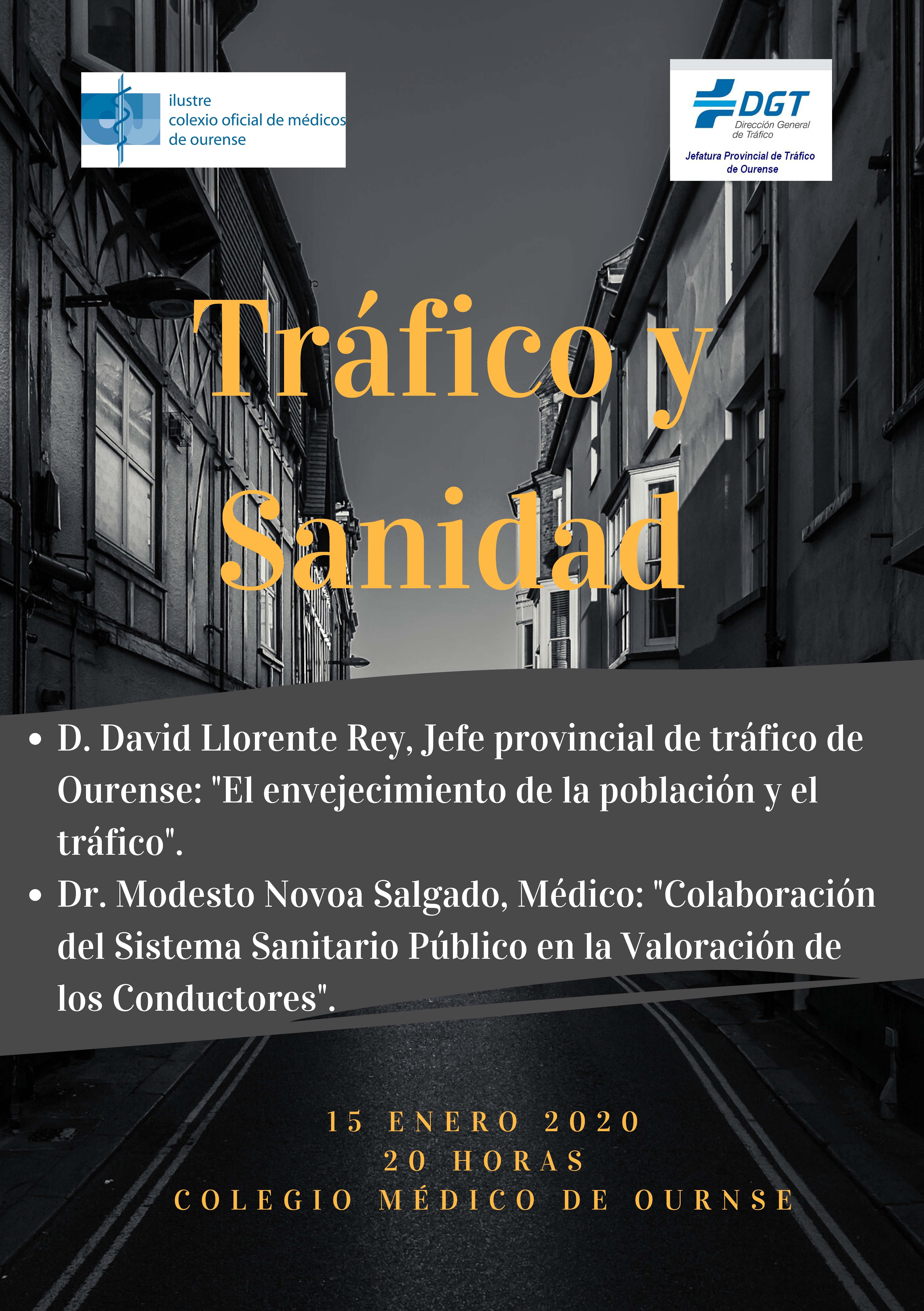 """Jornada: """"Tráfico y Sanidad"""""""