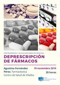 """Controversias y Actualizaciones en Medicina: """"Deprescripción de fármacos"""""""