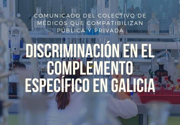 DISCRIMINACIÓN EN EL COMPLEMENTO ESPECÍFICO EN GALICIA