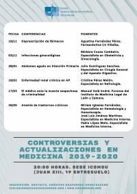 """Controversias y Actualizaciones en Medicina: """"Anemia de trastornos crónicos"""""""