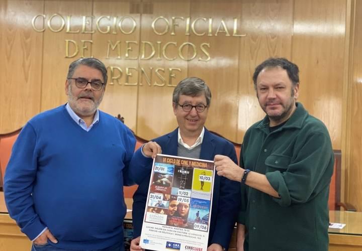 Arranca el VI Ciclo de Cine y Medicina del Colegio de Médicos de Ourense