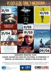 """""""Corazón Silencioso"""". VI Ciclo de Cine y Medicina"""
