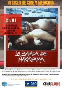 """""""La Balada de Narayama"""". VI Ciclo de Cine y Medicina"""