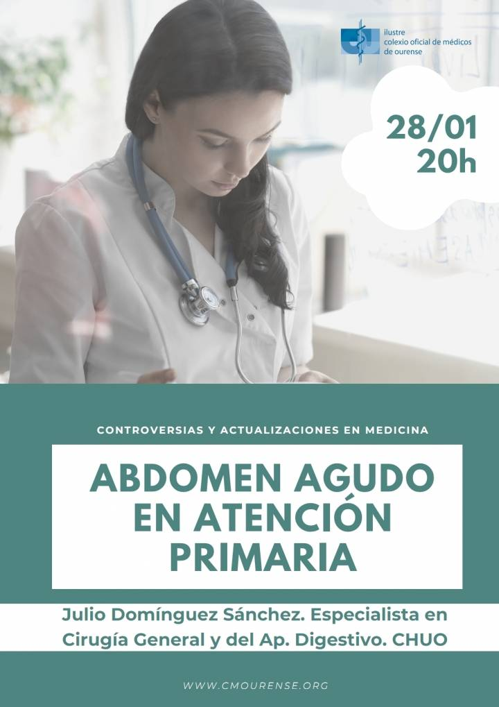 """Controversias y Actualizaciones en Medicina: """"Abdomen agudo en Atención Primaria"""""""