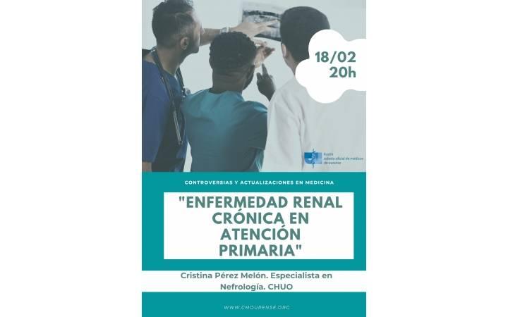 """Controversias y Actualizaciones en Medicina: """"Enfermedad renal crónica en Atención Primaria"""""""