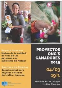 Presentación Proyectos Ganadores ONG 2019