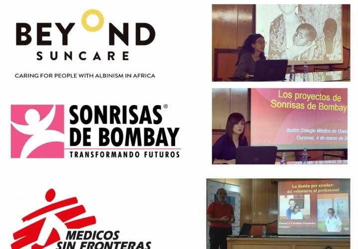 Semana de Acción Humanitaria en el Colegio Médico de Ourense. Colabora con