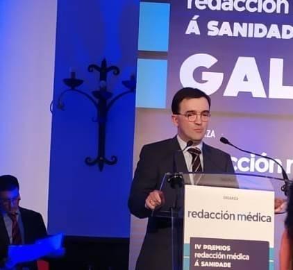 Galardón en la categoría de mejor Médico de Galicia para  el Dr. Joaquín Cubiella