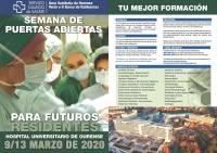Semana de Puertas Abiertas para Futuros Residentes