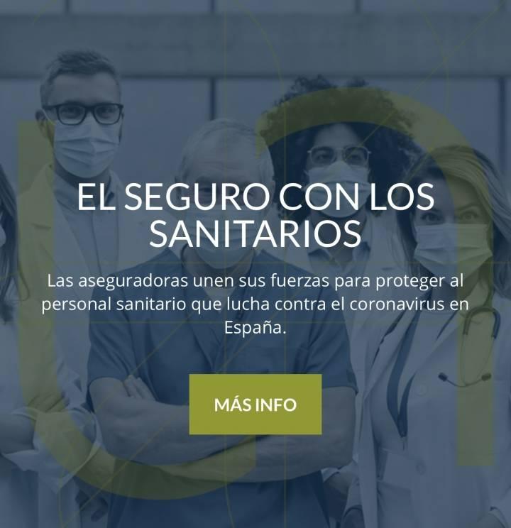 Las aseguradoras unen sus fuerzas para proteger al personal sanitario que lucha contra el coronavirus en España.