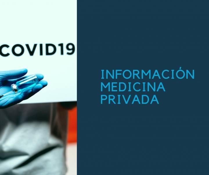 Información Medicina Privada en situación COVID-19