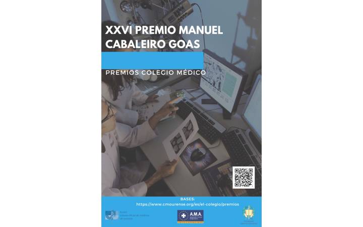 XXVI Premio Manuel Cabaleiro Goás