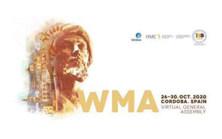 El CGCOM, anfitrión de la 71ª Asamblea General de la Asociación Médica Mundial, Córdoba 2020