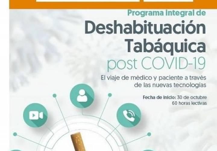"""La FFOMC pone en marcha el """"Programa Integral de Deshabituación Tabáquica post COVID-19"""""""
