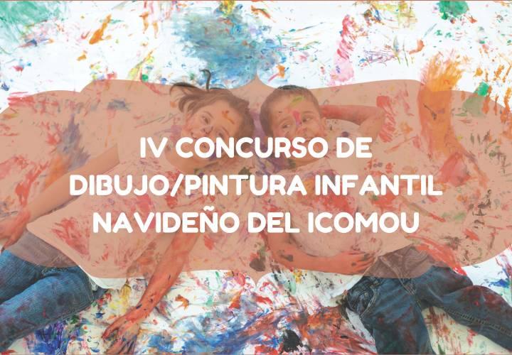 BASES DEL IV CONCURSO DE DIBUJO/PINTURA INFANTIL NAVIDEÑO DEL ICOMOU