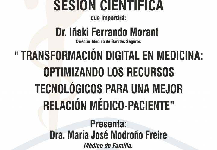 """Sesión AMQ: Webinar """"Transformación digital en medicina: optimizando los recursos tecnológicos para una mejor relación médico-paciente"""""""