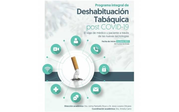 2ª edición Programa Integral de Deshabituación Tabáquica post COVID-19 da  FFOMC