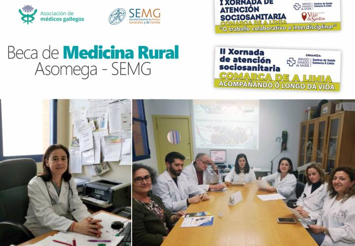 La I Beca de Medicina Rural Asomega-SEMG recae en un proyecto comunitario de Xinzo de Limia (Ourense)