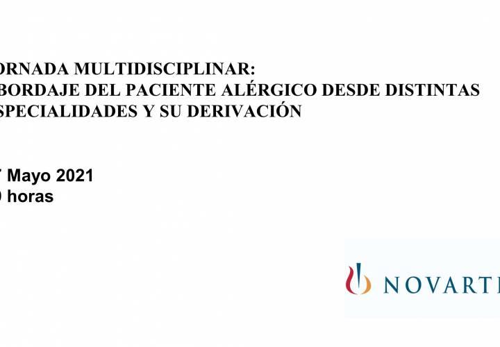 Jornada multidisciplinar:  Abordaje del paciente alérgico desde distintas especialidades y su derivación